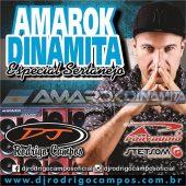 CD Amarok Dinamita e Poryaudio Esp. Sertanejo