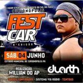 Oitavo Curionópolis FestCar