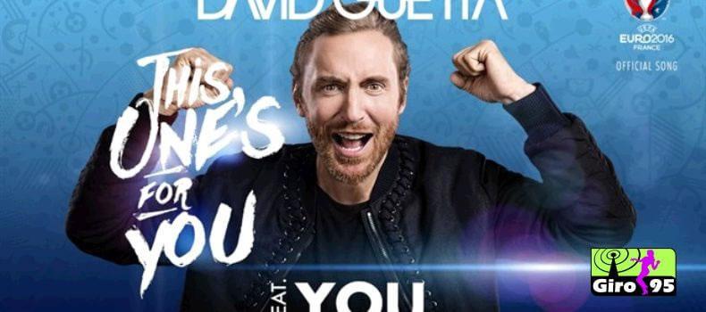David Guetta alcança marca com música da Euro 2016