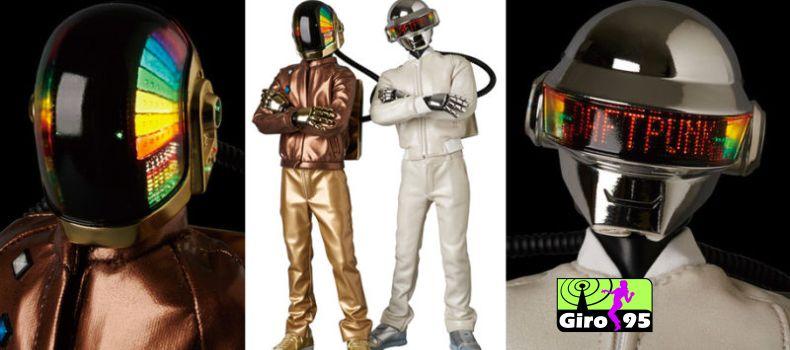 Daft Punk anuncia novos bonecos-miniatura para 2017