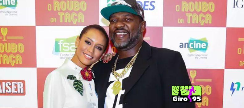 Taís Araújo, ao lado de Mr. Catra, lança filme em São Paulo