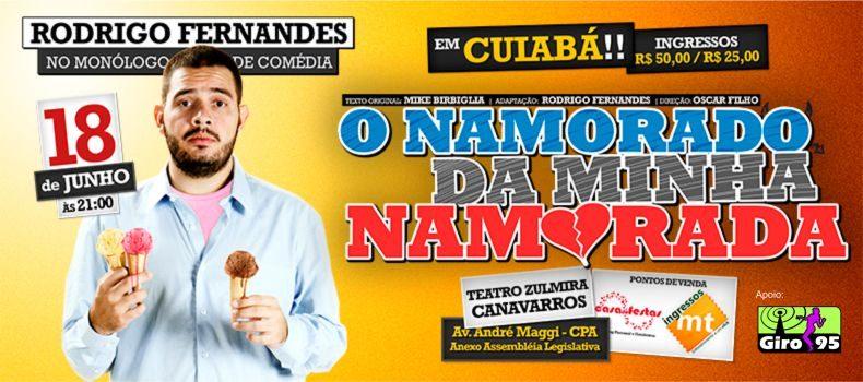 Rodrigo Fernandes do Jacaré Banguela faz apresentação em Cuiabá em Junho