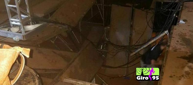 Estrutura de palco cede em show de Alok e pelo menos 20 pessoas ficam feridas