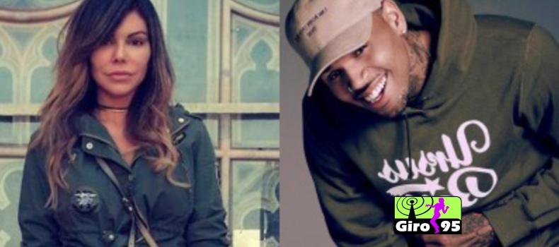 Chris Brown terá que pagar indenização por agredir modelo brasileira