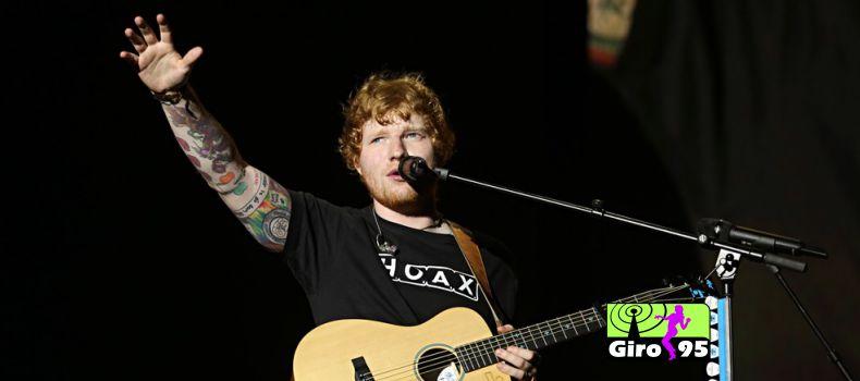 Ed Sheeran sofre acidente de bicicleta em Londres