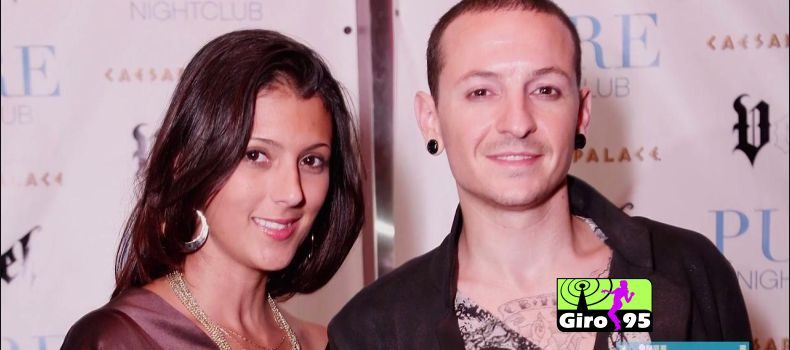 Viúva Talinda, posta declaração em vídeo gravada por Chester