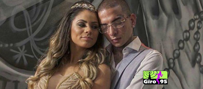 Mc Guimê oficializa noivado com Lexa