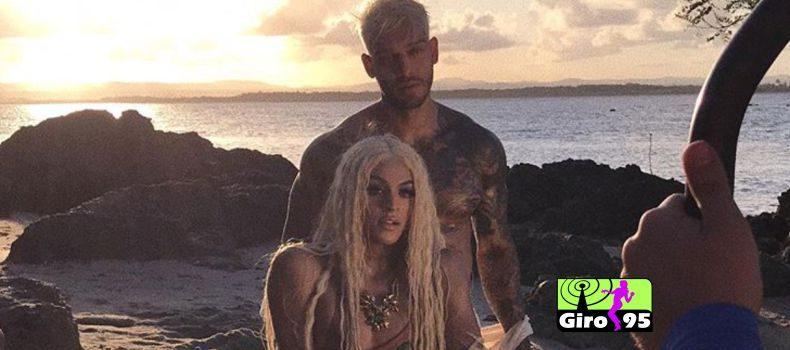 Pabllo Vittar divulga bastidores de clipe com Lucas Lucco na Bahia
