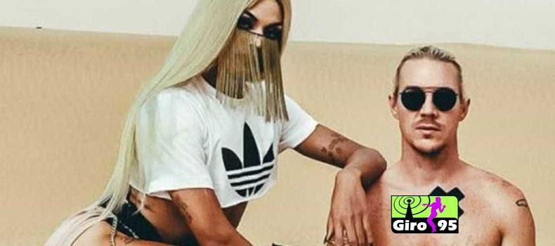Pabllo Vittar e Dj Diplo podem dar beijo na boca em novo clipe