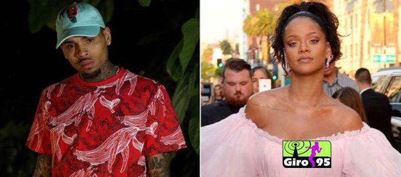 Chris Brown parabeniza Rihanna e é criticado por fãs