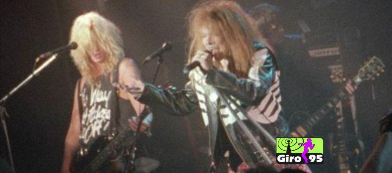 """Guns N'Roses libera o clipe de """"It's So Easy"""" 30 anos depois da gravação"""
