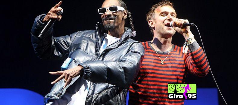 Gorillaz libera música com Snoop Dogg
