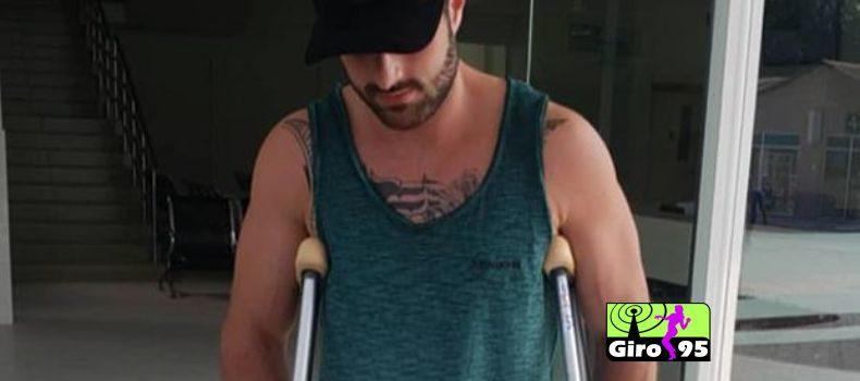 Alok se machuca durante lua de mel