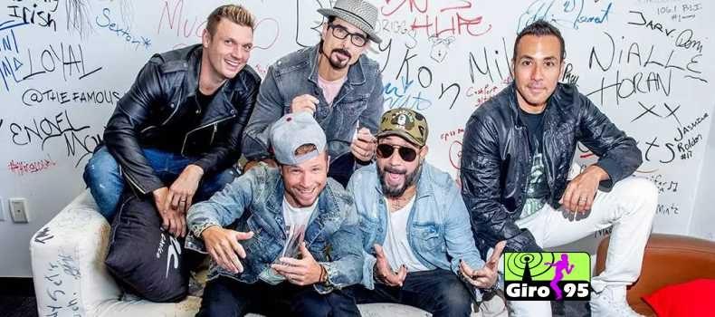 Backstreet Boys voltam ao topo da parada americana depois de quase 20 anos