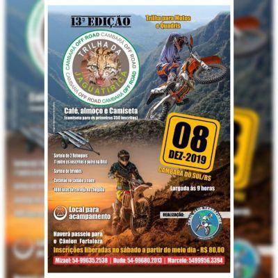 13 terceira Edição Trilha da Jaguatirica Cambara do Sul-RS