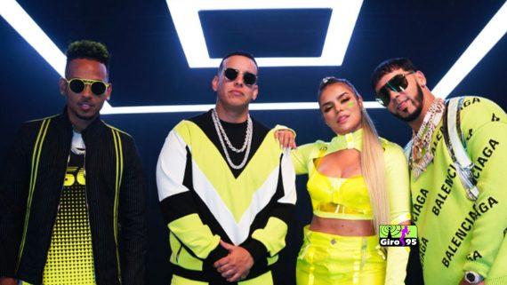 Anuel AA, Ozuna, Daddy Yankee & Karol G – China