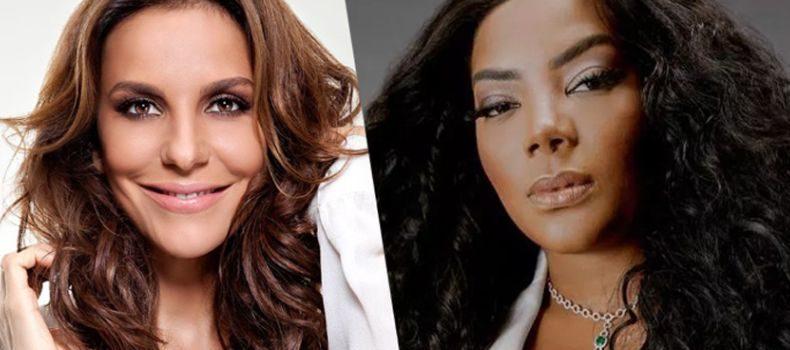 Ludmilla e Ivete Sangalo anunciam parceria para o carnaval