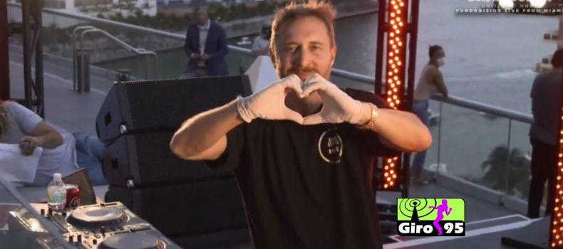 Live de David Guetta arrecada R$ 3,7 milhões contra coronavírus
