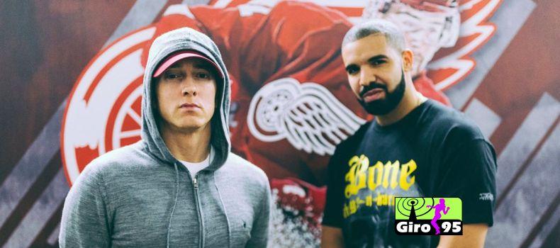 Drake e Eminem foram os artistas mais ouvidos da década nos EUA
